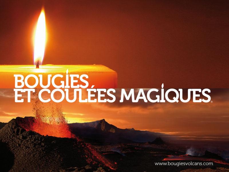 Bougies et Coulées Magiques
